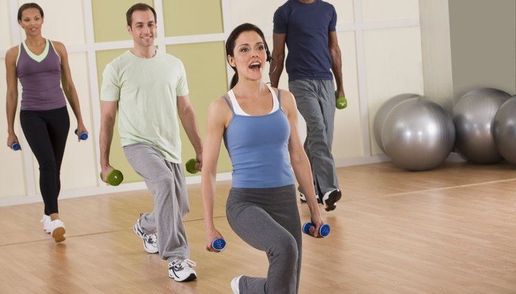 Fitness instructors teach a variety of classes.