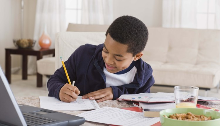 Fourth graders can be expected to complete about 40 minutes of homework a night.