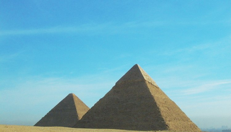Pyramid construction called for decades of diligent work.