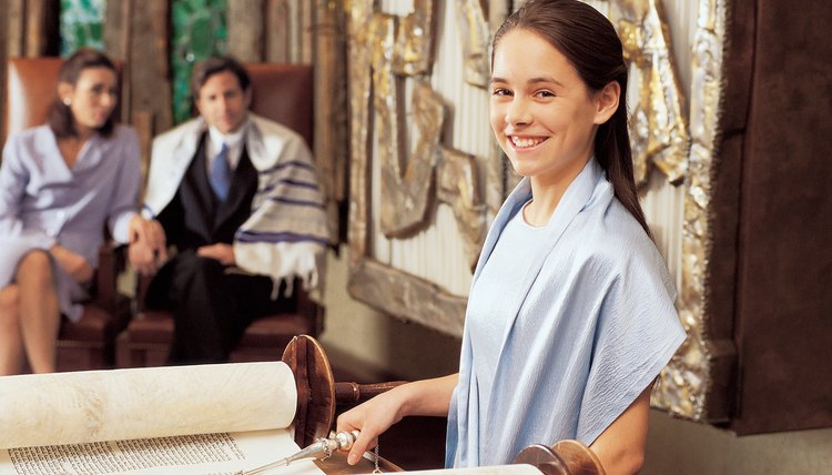 Women read from the Torah in Conservative synagogues, after age 12.