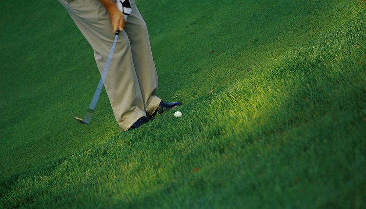 A gap wedge, with a loft of 50 to 54 degrees, will hit a ball farther than a sand wedge and shorter than a pitching wedge.