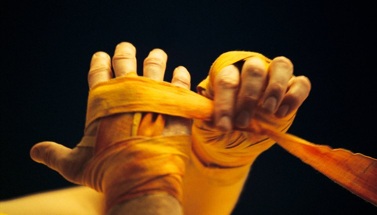 What Do You Call the Tape Wrapped Around Hands in Boxing?