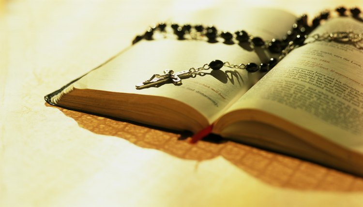The Catholic Church teaches that praying the rosary is praying the Gospel.