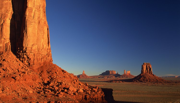 The Navajo nation was relocated from northern California to Arizona.