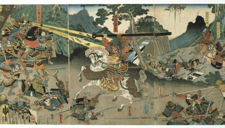 Samurai believed that Zen teachings provided them with inner strength.