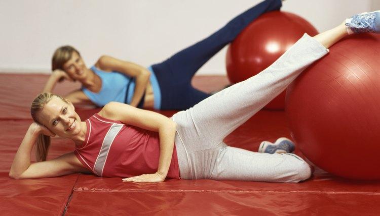 Exercise Ball Exercises for the Inner Thighs