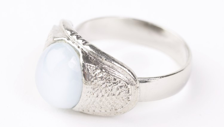 Sterling silver jewelry tarnishes quickly in humid environments.