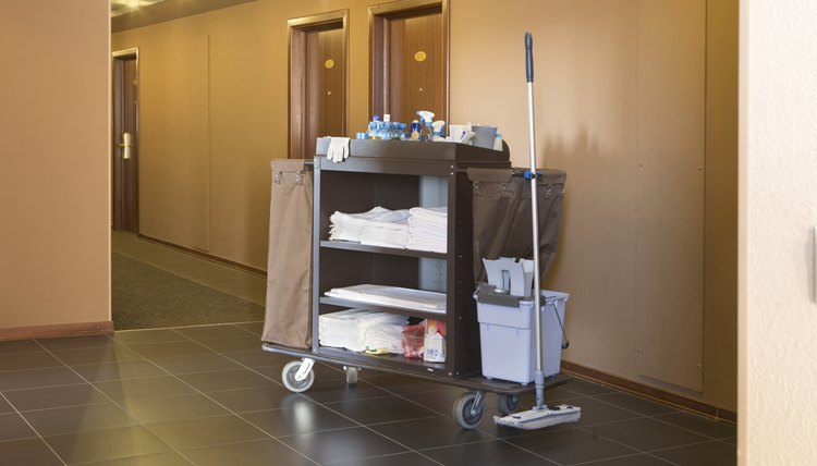 Hotel Housekeeping Cart