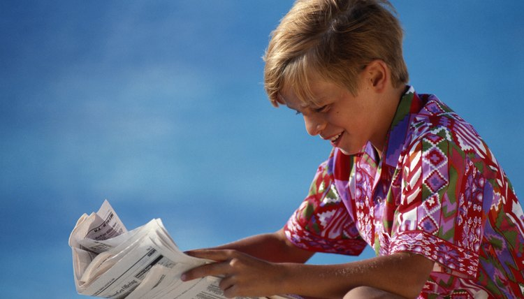 Using newspapers in reading activities can inspire students to read newspapers regularly.