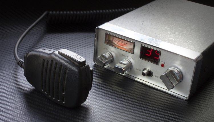 A CB radio.