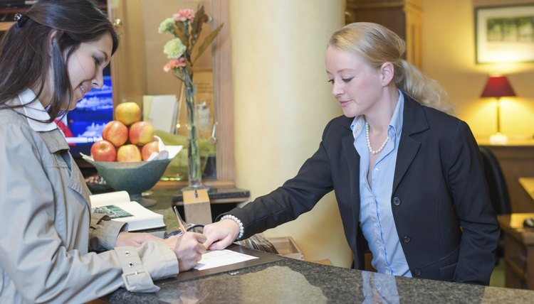 what are the skills needed for receptionist jobs