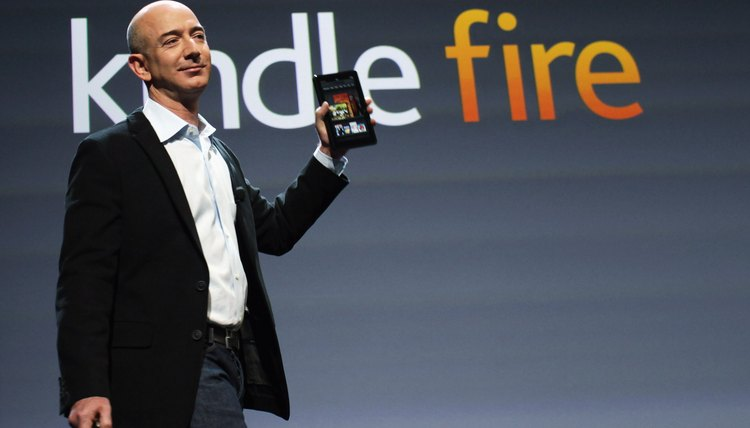 The Kindle Fire supports a USB connection to your PC.