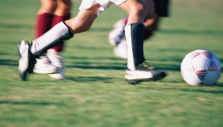 How to Keep From Getting Blisters While Playing Soccer