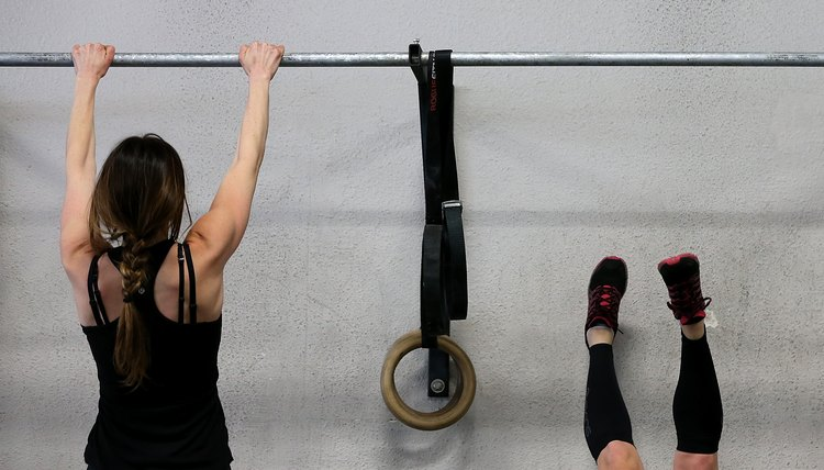 The Antagonist Muscles in a Pull-up