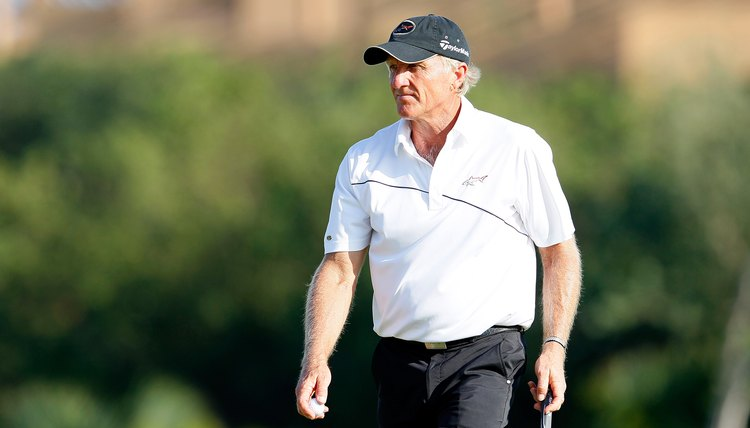 Greg Norman says resistance training will improve your swing.