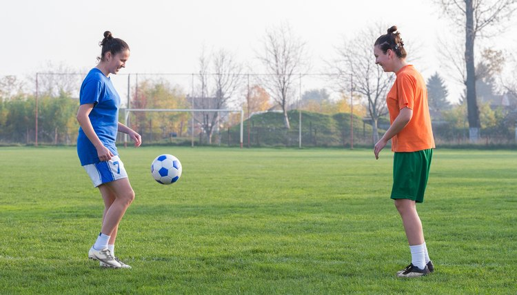 The Average Height of a Female Soccer Forward