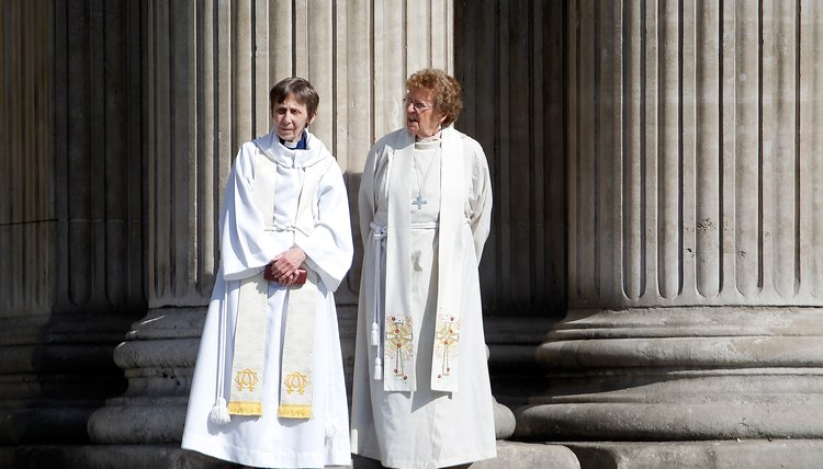 Two ordained priest of the Church of England.