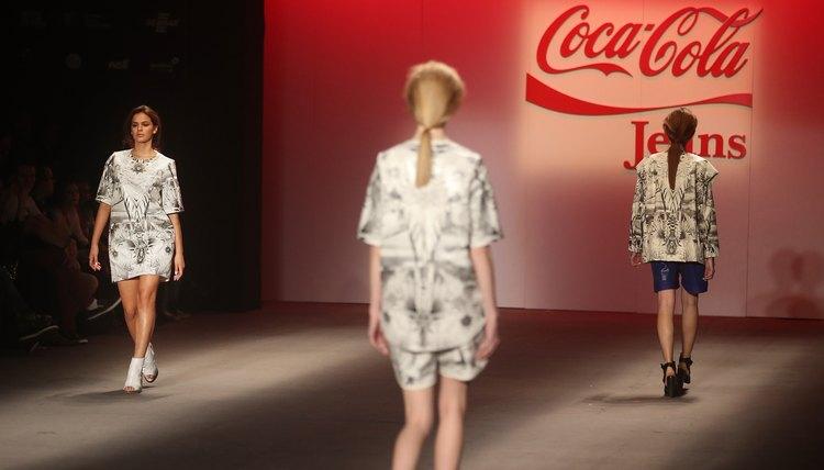 Coca-Cola jeans fashion show in Rio De Janeiro, Brazil.