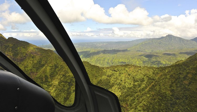 Kauai as Seen From Helicopter