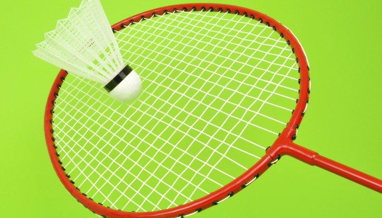 Parts of a Badminton Racket
