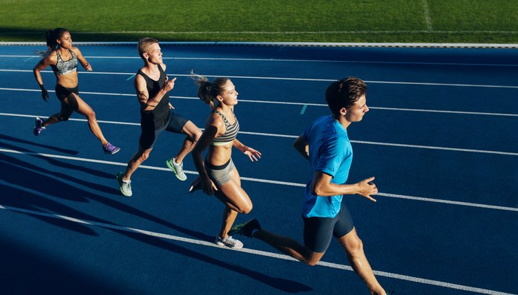 How to Make Line Markings for a Running Track