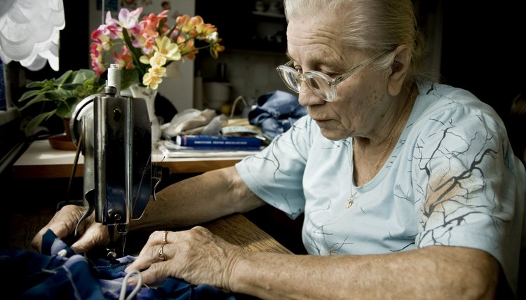 Nursing homes and senior centers often appreciate donations of sewing materials.