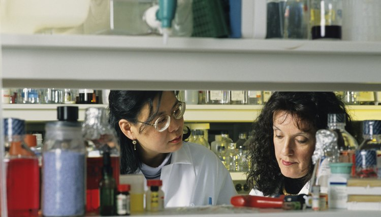 Public health PhD students often take coursework in biology and chemistry.