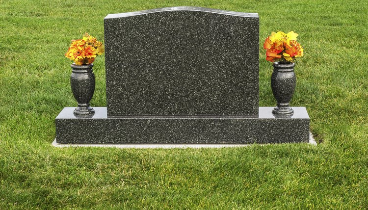 How To Place A Headstone Synonym