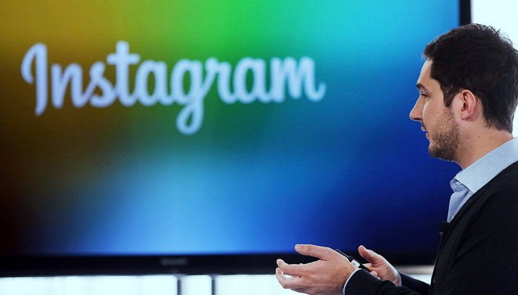 Instagram profiles are made public by default.