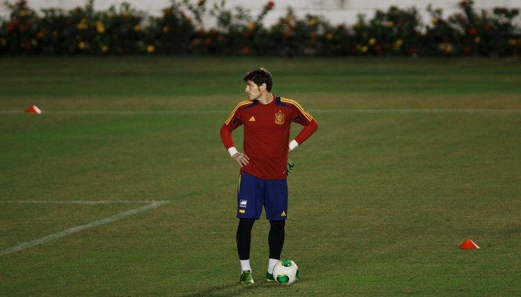 Goalkeeper Exercises to Do Alone