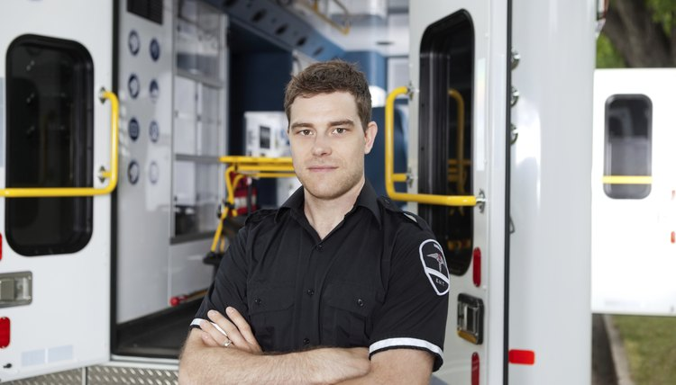 Male Ambulance Personal Portrait