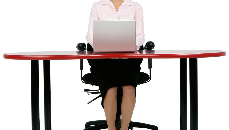 Exercises to Do at Your Desk Marching in Place While Sitting