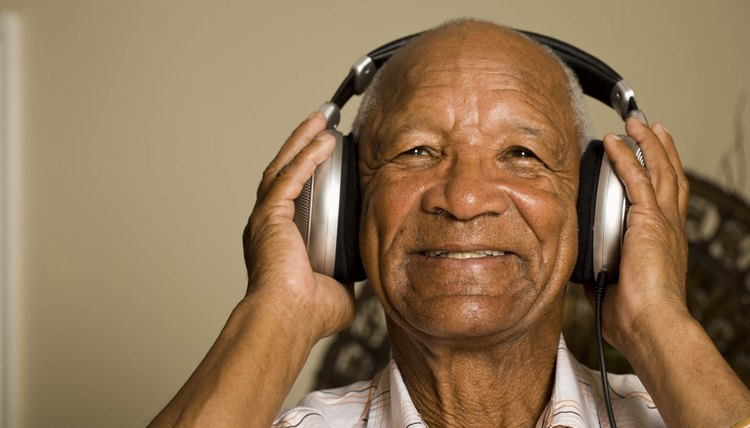 Music therapists often work with individuals with cognitive deficits.
