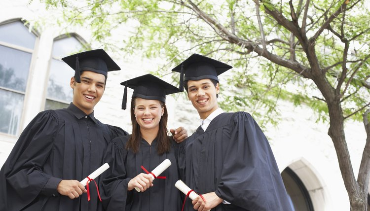 Graduation tests determine whether a graduate has mastered basic high school skills.