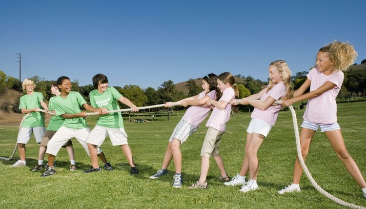 Cohesive Team Building Exercises For Teens Synonym