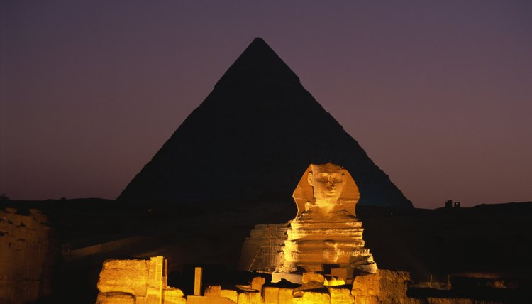 The Egyptian civilization was ancient by the time the Roman civilization began.
