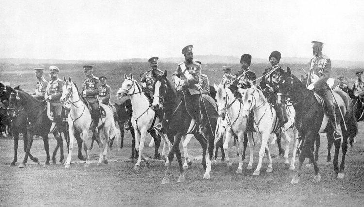 Czar Nicholas II ruled Russia until 1917.