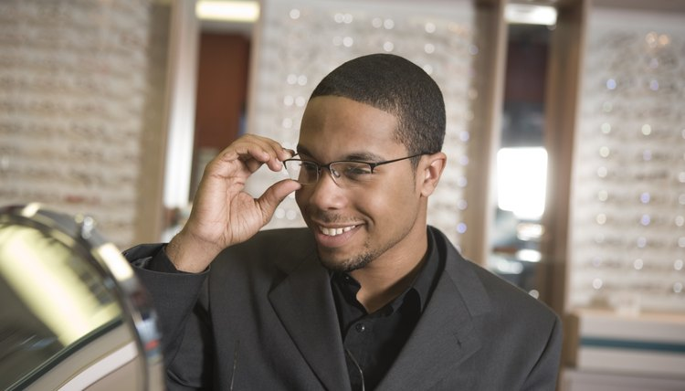 You might be able to donate your old pair of glasses at the same place you get your new pair.