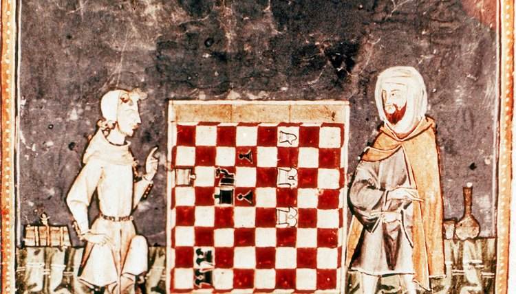 Crusaders brought back chess from the Islamic world.