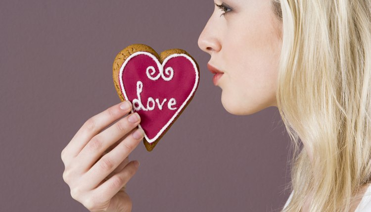 Heart-shaped edible gifts can symbolize your love.