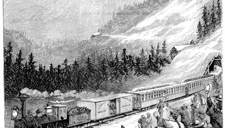 Chinese immigrants helped complete the First Transcontinental Railroad.
