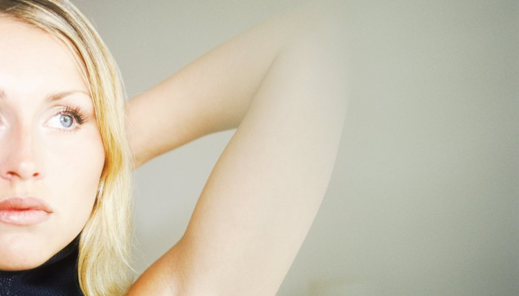Never dry shave your armpits, which can lead to severe skin irritation.