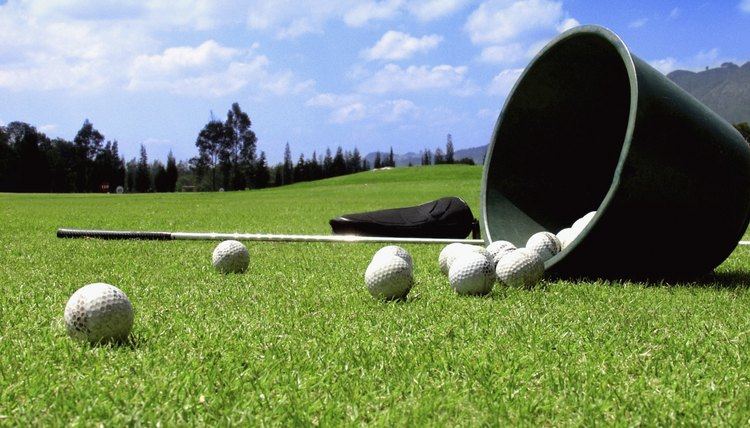 Get some practice balls for your yard so you can practice when you don't have time to drive to the range.