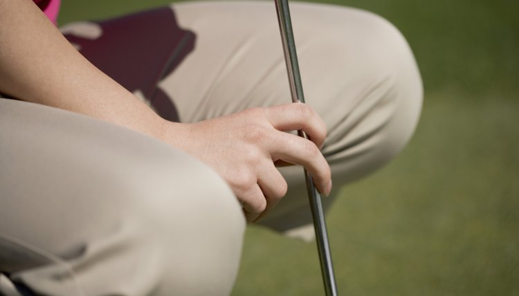 Knees can be particularly vulnerable in golf.