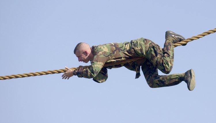 U.S. Army Ranger training at Fort Benning, Georgia