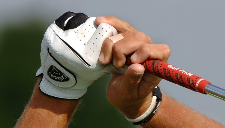 A good swing starts with the proper grip.