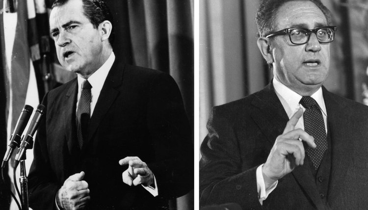 President Richard Nixon and Secretary of State Henry Kissinger supported Pakistan over India.