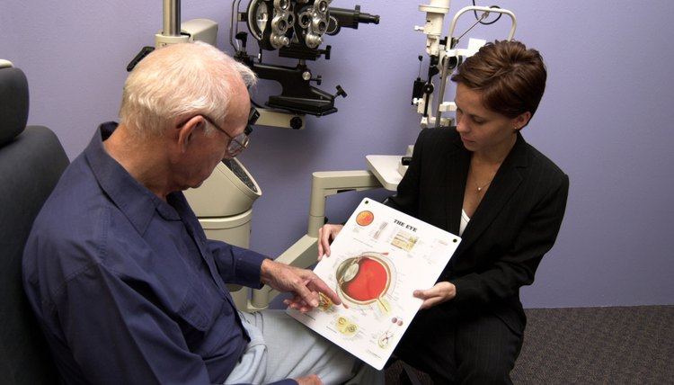 As the number of senior citizens increases, optometrists are helping more patients with eye problems.