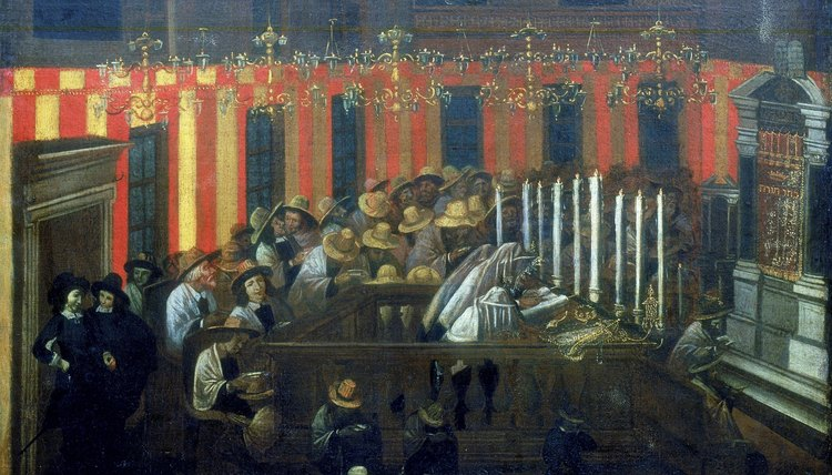 The ark is the focus of synagogue worship.