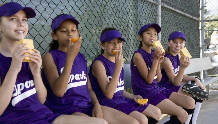 Good Snacks for Baseball Teams